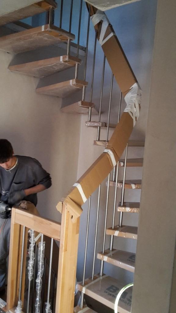 nachbar putz die treppenhaus nicht